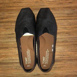 Toms Men's Classic Alpargata - Charcoal/Leather